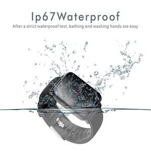 Image 3 - Смарт часы TISHRIC Q9/умные часы для женщин/мужчин/браслет с Bluetooth для часов Apple Android Iphone водонепроницаемые спортивные часы с тонометром