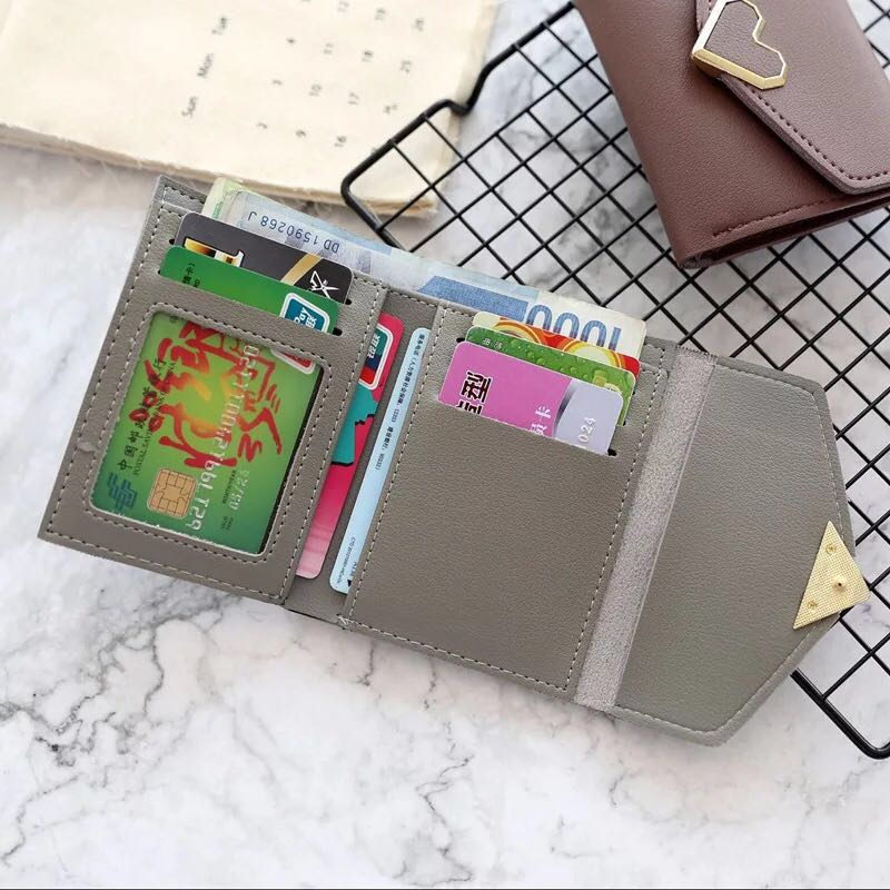 New Designs Fashionable Luxury Womens Wallets Wallets Womens Wallets perse Portomonee Portfolio Ladies Short Carteras A107