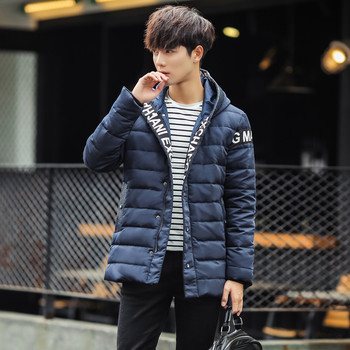 Hot style of long men's jacket coat cotton high conversion my97 P110 quantity is with preferential treatment
