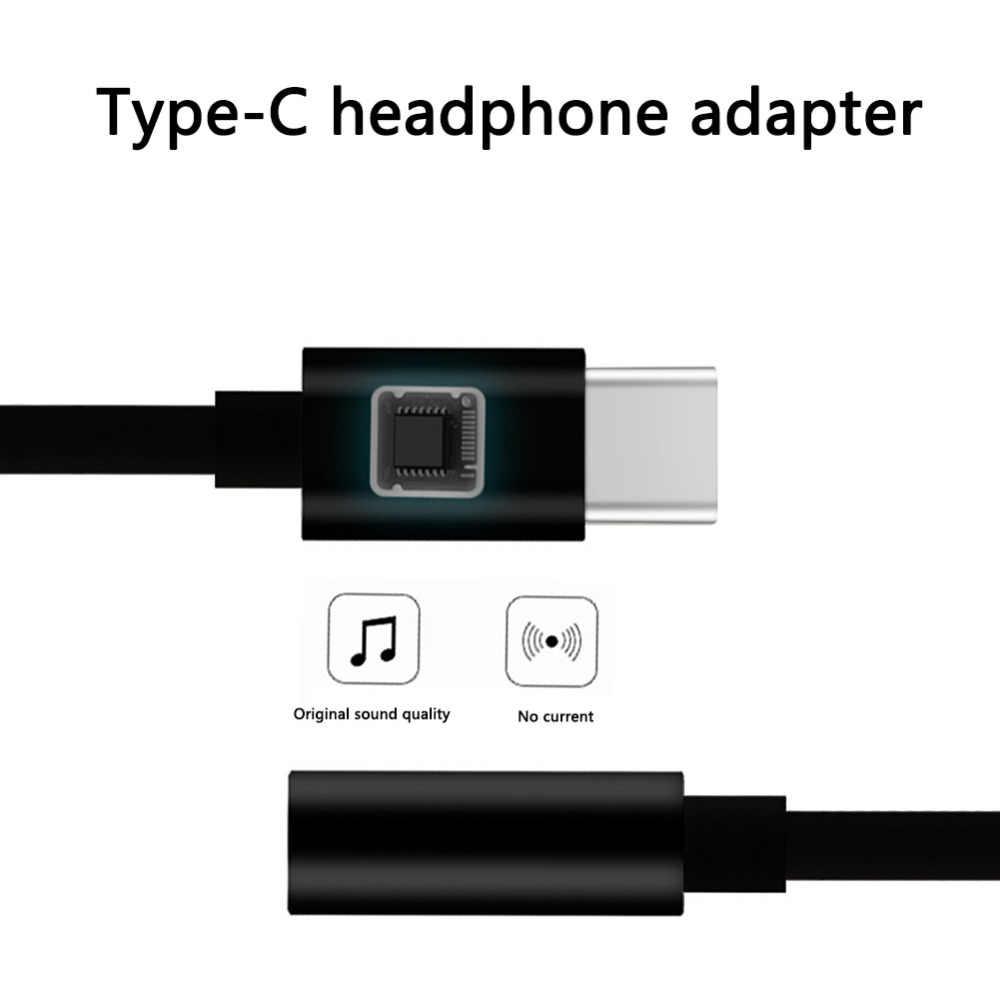 USB Loại C Jack Tai Nghe 3.5 Mm Âm Thanh AUX Cáp Cho Samsung LG Nexus Oneplus Nokia Xiaomi huawei Loại C Điện Thoại Thông Minh