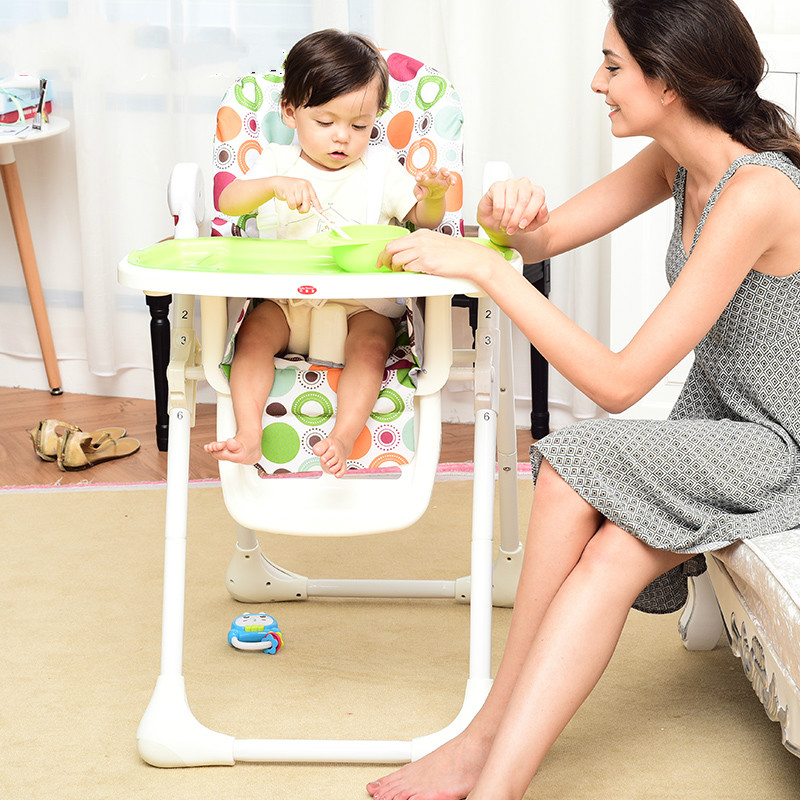 Multifunctional Folding Baby Dining Chair Stable Steel Support Baby High Chair Dinner Lunch Baby Feeding Chair Table Seat C01 2pcs philips sonicare replacement e series electric toothbrush head with cap
