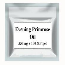 Evening Primrose Oil Supplement 350mg x 100pcs Softgel Capsules free shipping