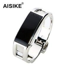AISIKE D8สมาร์ทสร้อยข้อมือสายรัดข้อมือS MartbandบลูทูธนาฬิกาสำหรับAndroidและIOSระยะไกลกล้องPedometerป้องกันการสูญเสียสร้อยข้อมือ