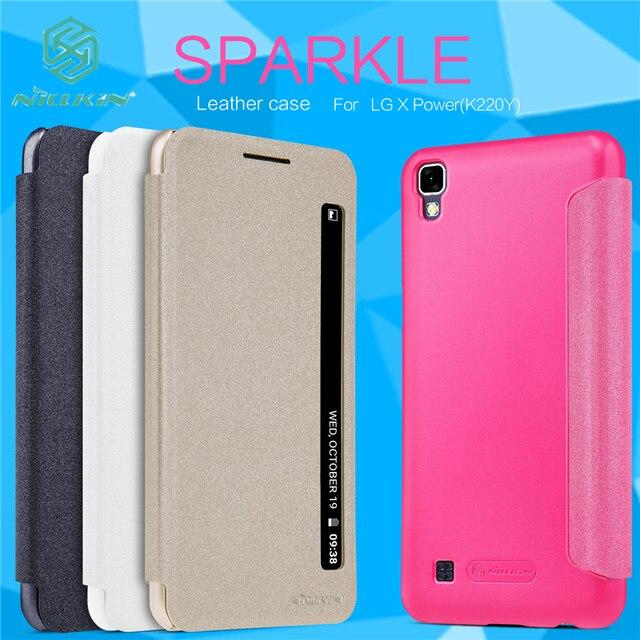 For Lg X Power K220ds K220 Case Cover Original Nillkin Flip Smart