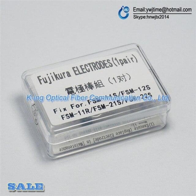 Бесплатная доставка НОВЫЕ Электроды для Fujikura ELCT2-12 FSM-11S FSM-12S FSM-21S FSM-22S Fusion Splicer Электродов
