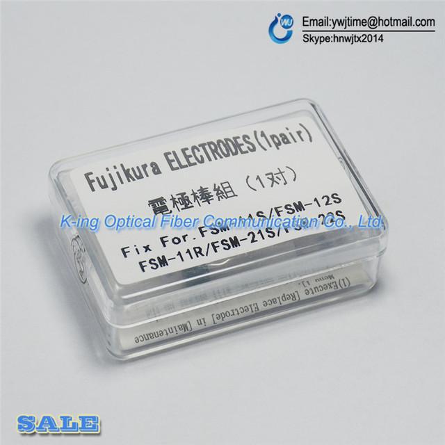 Envío gratis NUEVO Electrodos para Fujikura ELCT2-12 FSM-11S FSM-12S FSM-21S FSM-22S Electrodos Fusionadora