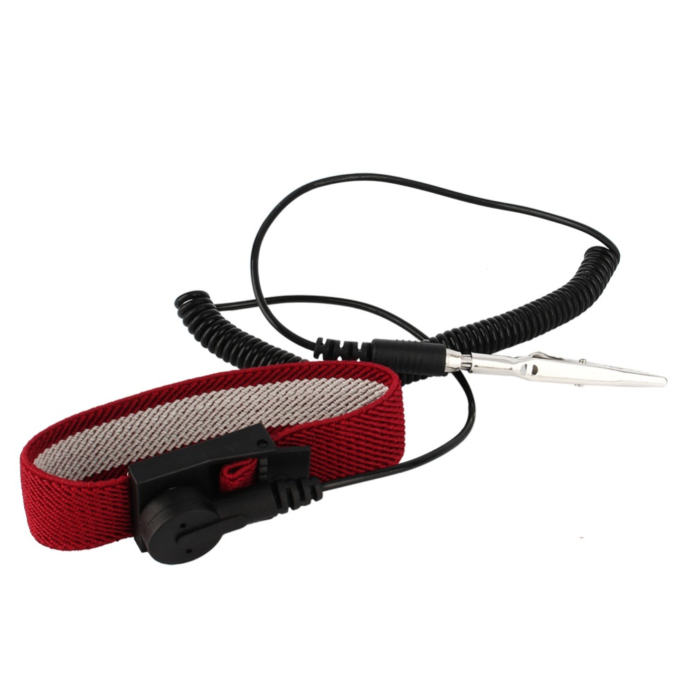 Nice Hot Sale Tool Part Anti Static Esd Adjustable Wrist Strap Discharge Ground Bracelet Electronic