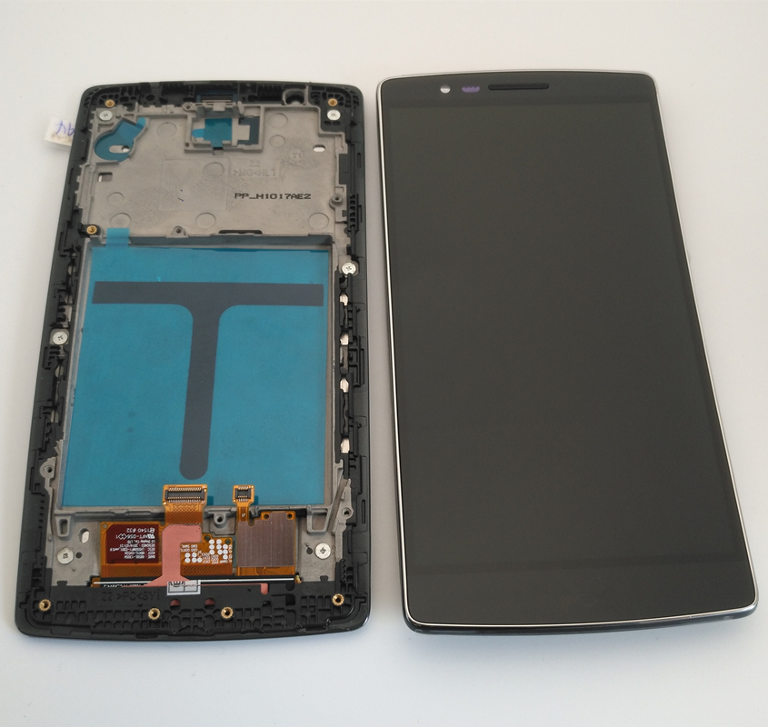 Azqqlbw 5.5inch for LG G Flex 2 H955 LCD Display Touch Screen Digitizer Assembly  for LG G Flex 2 H955 Display with frame+tools