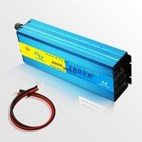 Автомобильный инвертор питания 1000 Вт Чистая синусоида Инвертор зарядное устройство Veicular инвертор 12 В 220 В 24 в 110 В инверсор конвертер 12 В до