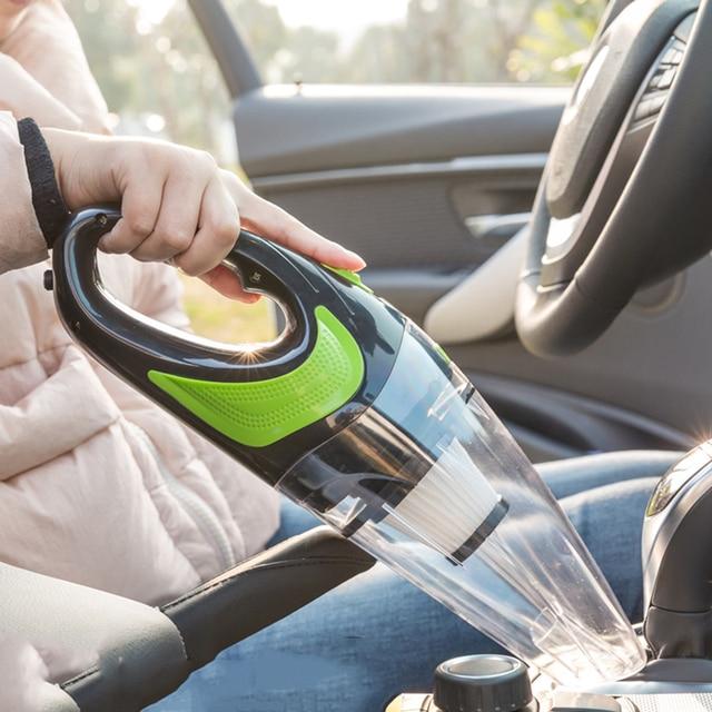 Новый беспроводной автомобильный пылесос ручной мини-пылесос супер всасывающий влажный и сухой двойного использования Портативный пылесос