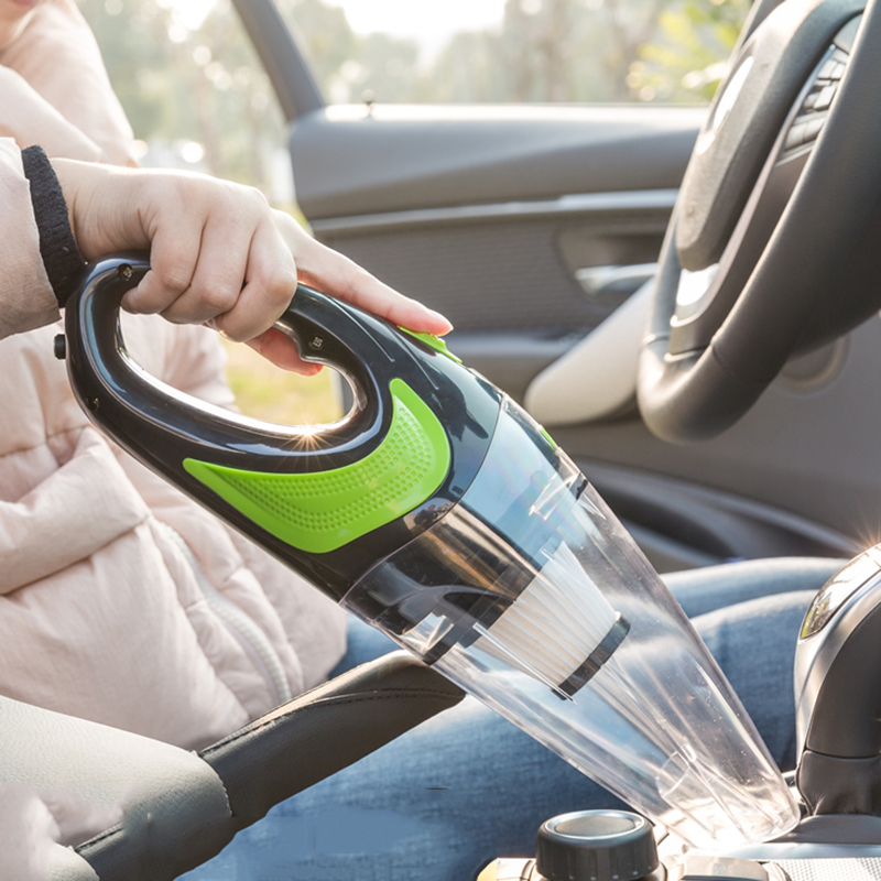 New Wireless Car Vacuum Cleaner Handheld Mini Vacuum Cleaner Super Suction Wet And Dry Dual Use Portable Vacuum Cleaner wireless super strong suction type wet