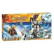 Bela 10296 Sword Master Ice Bunker Minifigure 668 Pcs Bricks Building Block Toys