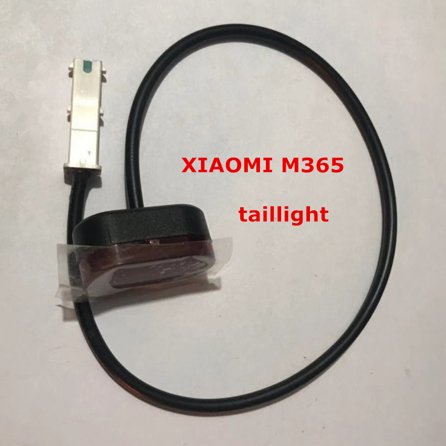 XIAOMI MIJIA M365 Electric scooter skateboard original rear warning lamp and Non original tail light custom
