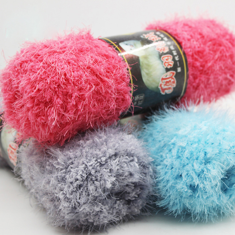 Mohair Yarn : 500g Mohair Yarn For Knitting Wool Knitting Soft Yarn handmade Crochet ...