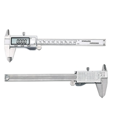 Metal caliper 6-Inch 150mm Stainless Steel Electronic Digital Vernier Caliper Micrometer Measuring tools caliper set