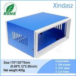 170*130*80 мм 6.69x5.12x3.15 дюймов энергосберегающая коробка электрический счетчик коробка электрические панели коробки Электрический железный ящи...
