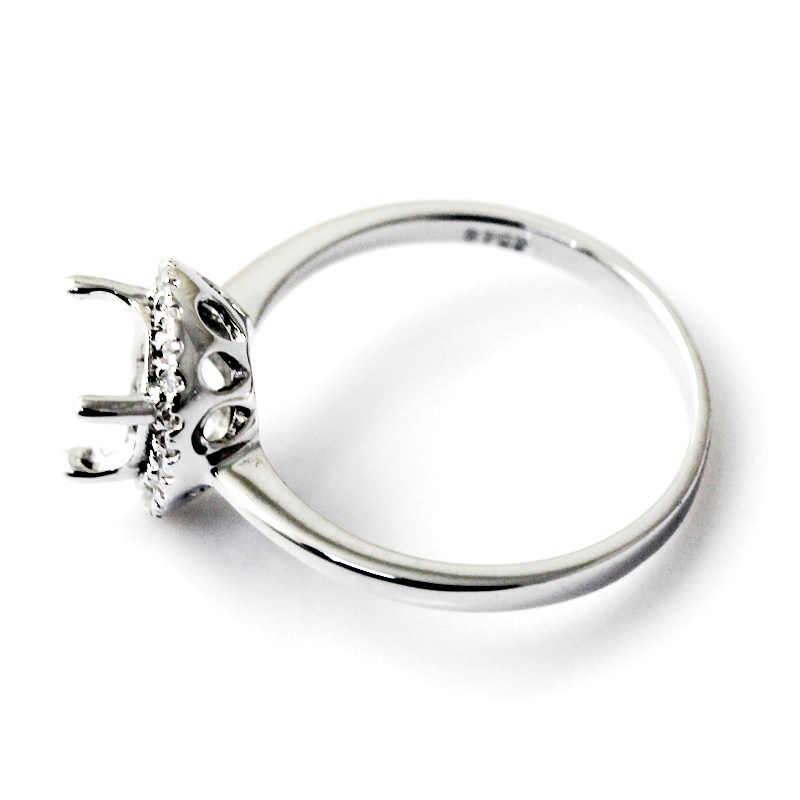 Beadsnice ID27353 nova chegada populares 925 prata anéis para as mulheres elegante para sempre casamento do noivado ajuste do anel semi mount