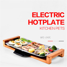 2100W  Korean Barbecue Non-Smokeless Ceramic Grill Non-stick House Electric Barbecue Tools 51* 26.5CM Baking pan 220V/50 Hz