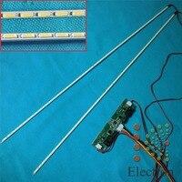 517mm LED Backlight Lamps Strip Update Kit Aluminum Plate W 26 65 Inverter For 46 Inch