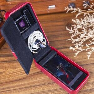 Image 2 - Fiio HB4 Opslag Speler Hoofdtelefoon Corticale Custom Box Mini Draagbare Waterdichte Bescherming Case Voor FA1 FH7 M5 M9 M11 Q5 x5iii K3