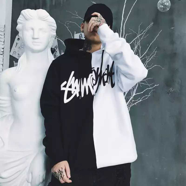 Men's Oversized Cotton Hoodie