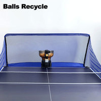 Table Tennis Ball Recycle Catch Net Ping Pong Ball Collect for Pingpong Robots Table Tennis Training Table Tennis Accessories