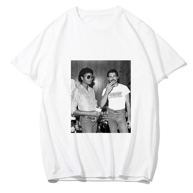 Verão 2019 nova camisa dos homens t de Freddie Mercury impressão Game of thrones tshirt homme Ocasional branco solto de algodão de manga curta roupas