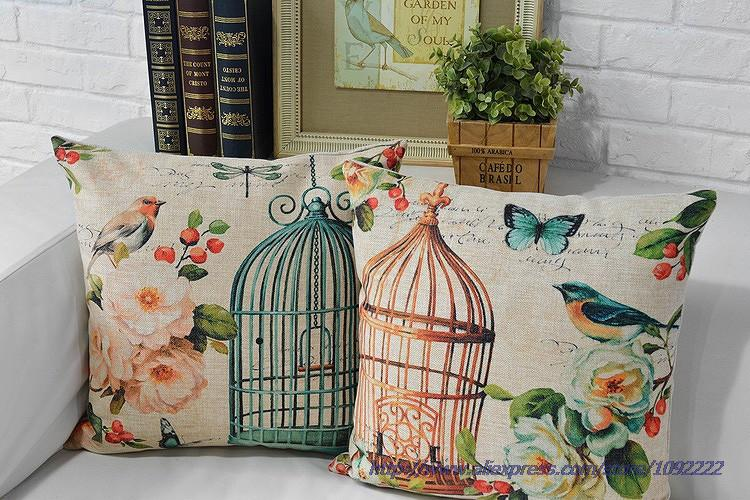 Online buy wholesale bird cage pillow from china bird cage for Cage a oiseaux decorative