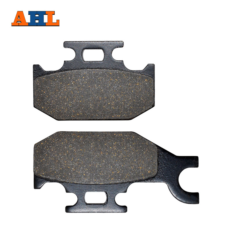 AHL Motorcycle Rear Brake Pads For Yamaha Raptor 700 YFM R 2006 2007 2008 2009 2010 2011