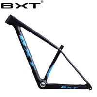 BXT brand strengthen carbon mtb frame 29er mtb carbon frame 29 carbon mountain bike frame 142*12 or 135*9mm bicycle frames