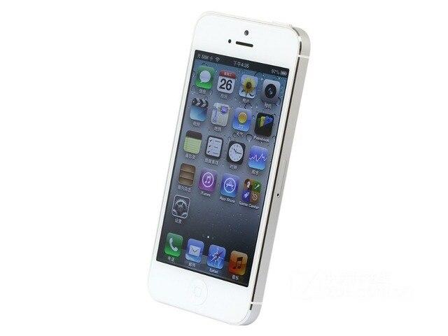 Original Apple iPhone 5 Dual Core 4.0 Inch WCDMA 16GB/32GB/64GB ROM 1GB RAM 8MP Camera IOS Touch ID Factory Unlocked Cellphone 1