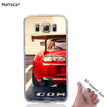 5cd6d71826b0 red car tuned supra soft full TPU phone case for samsung s5 s6 edge plus s7