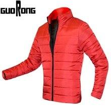 Новинка 2017 года зимняя куртка Для мужчин 100% хлопок мягкий парка толщиной молнии Тонкий Для мужчин пальто теплая верхняя одежда для мальчиков пальто