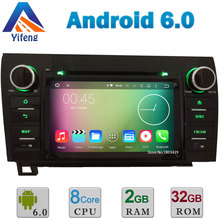 7″ HD Android 6.0 Octa Core Cortex A53 64-Bit 2GB RAM 32GB ROM Car DVD Player Radio Stereo GPS For Toyota Tundra Sequoia DAB+ BT