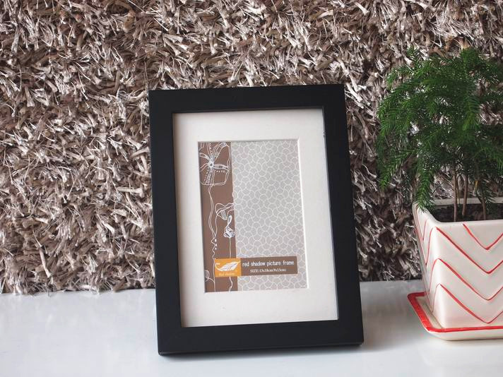 black picture frame for home table decor for 8x10 20x25cm photochina