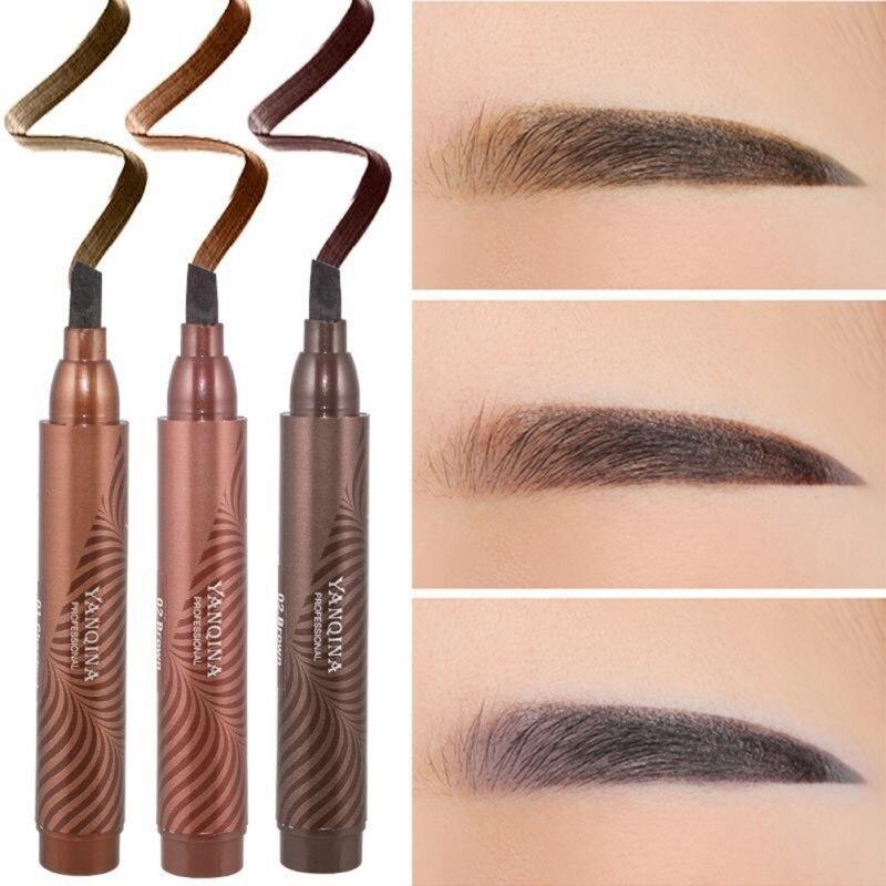 Makeup Eyebrow Enhancer Eyebrow Tint Long-lasting Liquid Eyebrow Pen