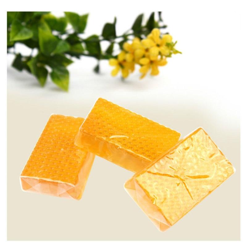 2pcs/set 100% Glutathione Soap Honey Skin whitening Soaps Hand Made Soap Body Whiten Peeling Washing Bath Care Tools W3