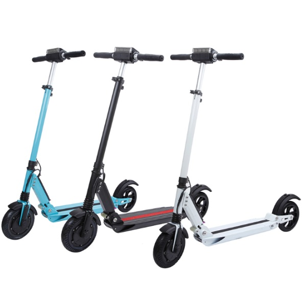 Prix pour Etwow scooter électrique 2017 NOUVEAU E-TWOW S2 BOOSTER Mise À Niveau Pliant Électrique scooter Planche À Roulettes 500 W bike Kick Scooter