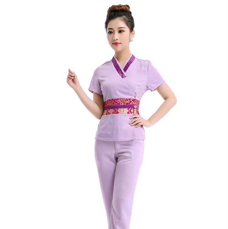 Online buy wholesale high hospital from china high for Spa uniform wholesale