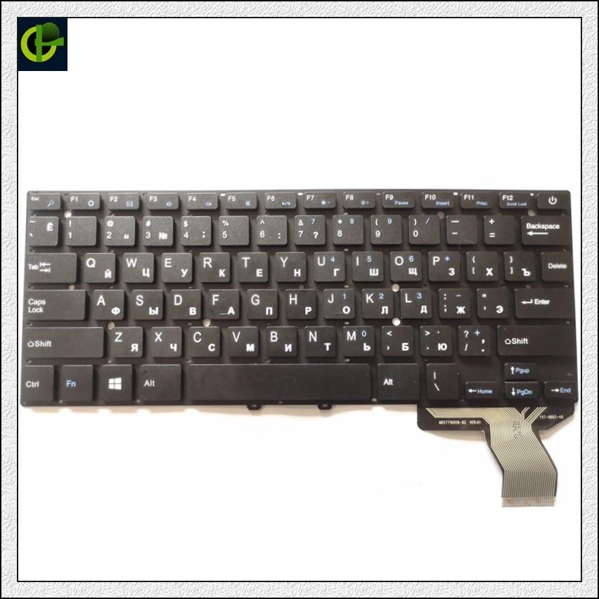 Clavier russe d'origine pour Jumper EZBook 3 Pro V3 V4 LB10 noir RU Ver1 (ancienne Version)/Ver2 (nouvelle Version)