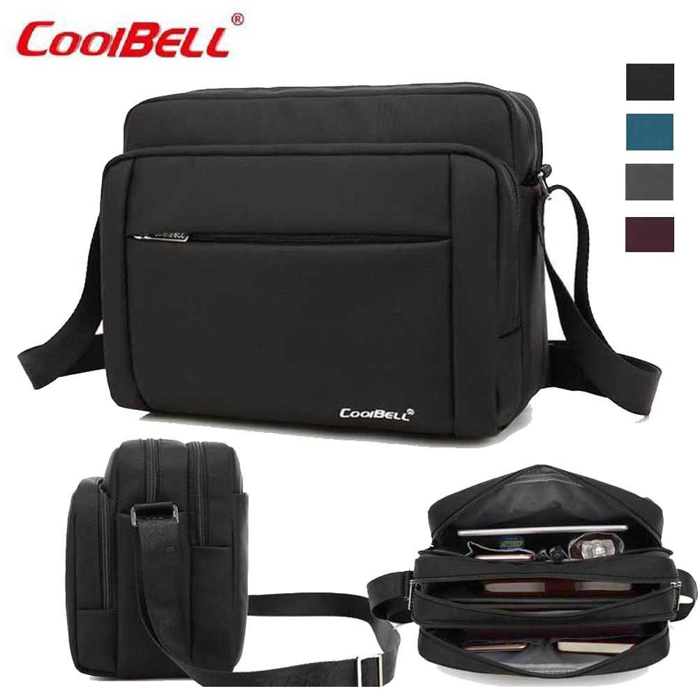 CoolBell 10 Inch Laptop Shoulder Bag Tablet Sleeve Case Handbag Carry Case For iPad/Dell/Lenovo/Acer/ASUS Messenger Briefcase-FF high quality 10 25 4cm colorful hard netbook laptop sleeve case bag for ipad 2 3 4 5 6 sleeve bag