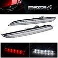 Ясно бампер отражатель из светодиодов обратный хвост фонаря г . г . Mazda 6 Mazda6 MPS Atenza / белый ( CA172 )