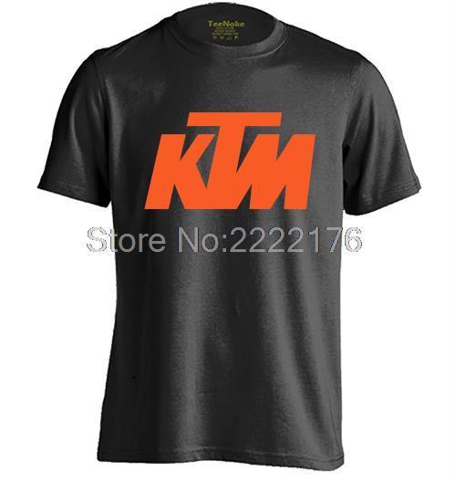 Ktm Mens & Womens casual cuello redondo T shirt