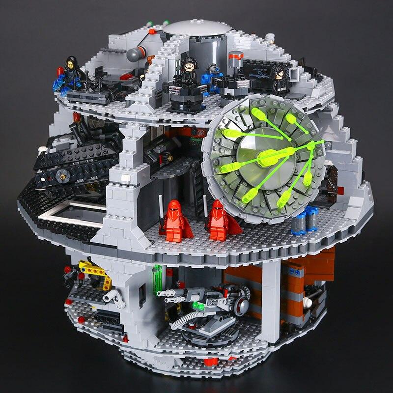 DHL Star 05063 4016pcs The UCS Death Stars Building Block Bricks Star Toys Kits Wars Compatible
