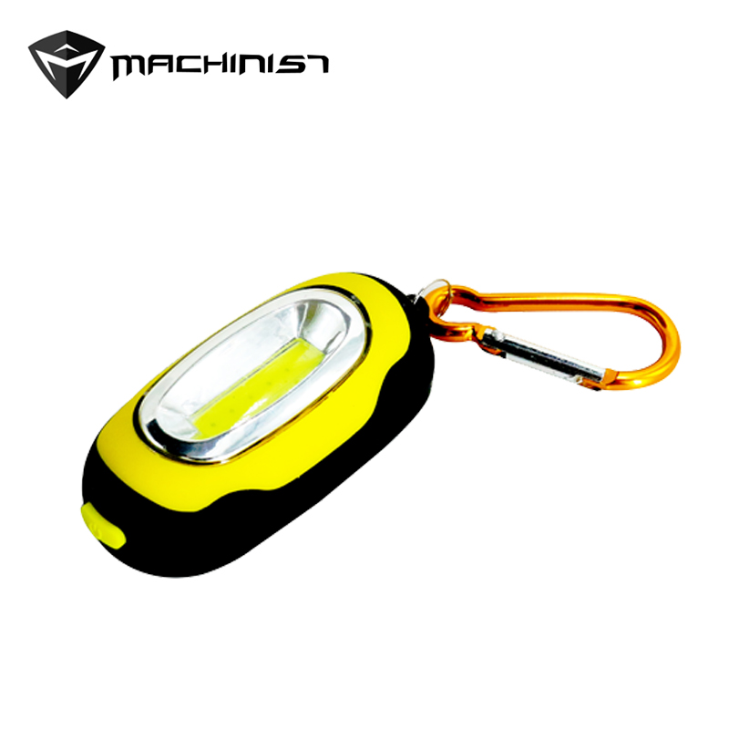 COB светодио дный светодиодный фонарик 3-Mode мини-лампа брелок кольцо брелок ПВХ лампа факел брелок ремонт огни с магнитом батареи