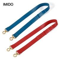 IMIDO Wide Strap Genuine Leather Women Handbag Belt Shoulder Bag Strap Replacement Accessory Parts Brand Design Cowhide STP110