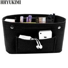 Makeup Storage Organizer,Multi-pockets Felt Cloth Handbag Bag Cosmetic Toiletry Bags for Travel Organizer