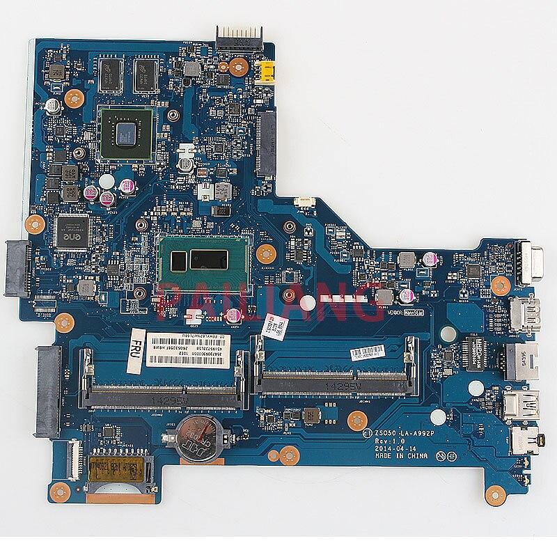 Материнская плата для ноутбука HP Pavilion 15-R 250 G3 I5-4200U CPU PC материнская плата ZSO50 LA-A992P full tesed DDR3