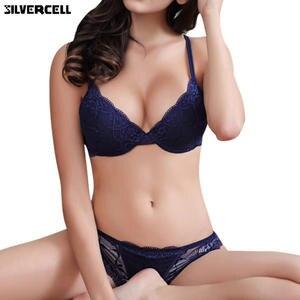 a462c18e98 SILVERCELL Sexy Ladies Push Up Bra Women Underwear Bra Set