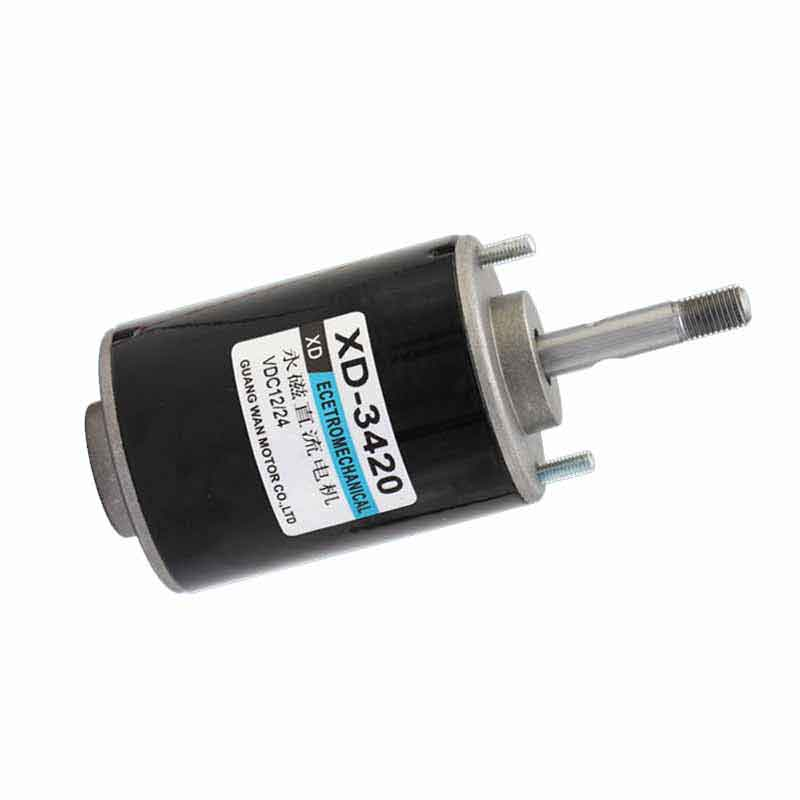 12V/24V 3000/6000rpm permanent magnet high speed Brush DC motor Positive and negative reversing small motor speed regulating 30W europe and usa style electric scooter permanent magnet high speed reversing motor dc12v 24v my6812 100w 120w 150w